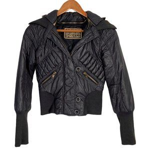 MOUSSY Japanese Fur Hood Down Jacket